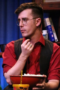 Cody Keown as Kip in Scott C Sickles' play POPCORN