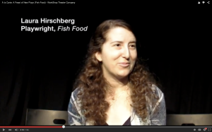 Click the link above and hear Laura talk about Fish Food