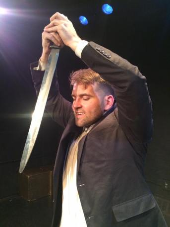 J.WARREN WEBER delights as Hamlet