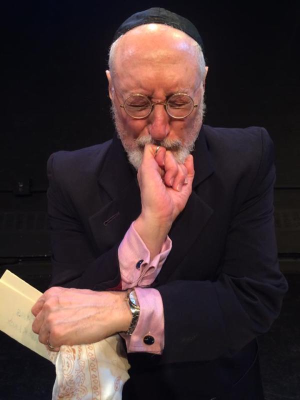CHARLES E. GERBER contemplates his plan as Shylock.