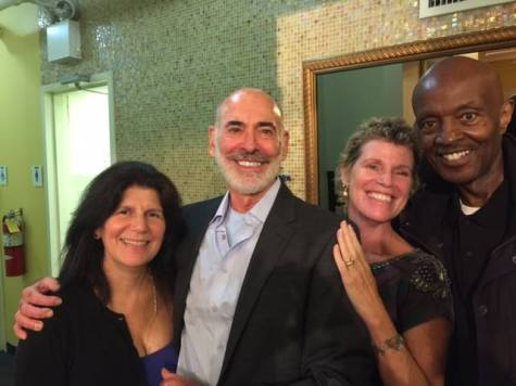 Glenn Alterman and LB Williams with lovely ladies